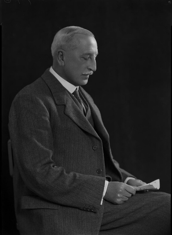 Sir Charles Frederick Arden-Close, by Lafayette, 26 October 1928 - NPG x42943 - © National Portrait Gallery, London