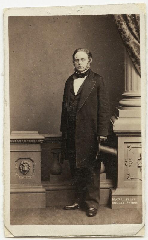 John Bright, by John Jabez Edwin Mayall, 1861 - NPG x4317 - © National Portrait Gallery, London