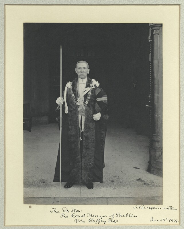 William Coffey, by Benjamin Stone, 10 June 1909 - NPG x44616 - © National Portrait Gallery, London