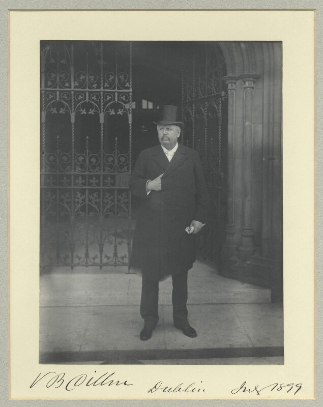 Valentine Blake Dillon, by Sir (John) Benjamin Stone, July 1899 - NPG x44656 - © National Portrait Gallery, London