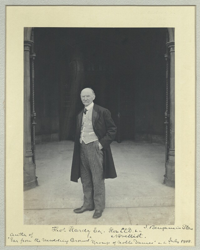 Thomas Hardy, by Sir (John) Benjamin Stone, 17 July 1908 - NPG x44711 - © National Portrait Gallery, London