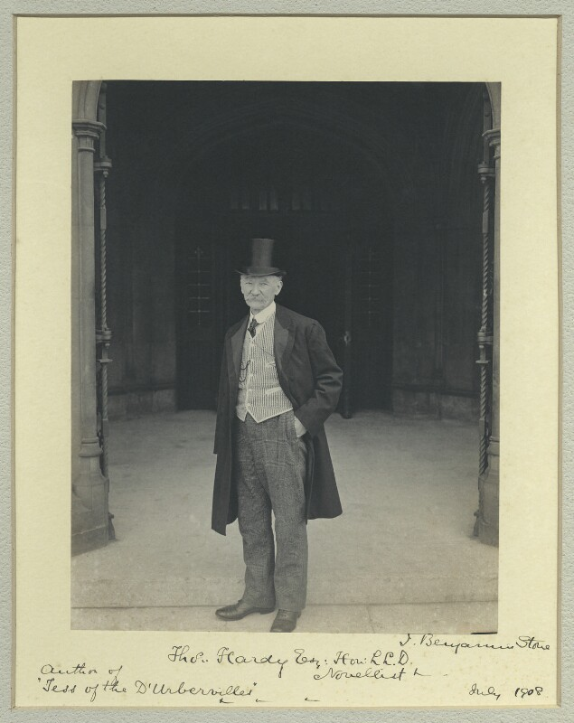 Thomas Hardy, by Benjamin Stone, 17 July 1908 - NPG x44712 - © National Portrait Gallery, London