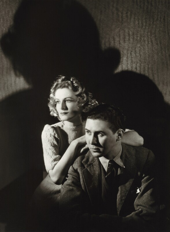 Hermione Hannen; Anthony Quayle, by Gordon Anthony, 1938 - NPG x44777 - © Getty Images