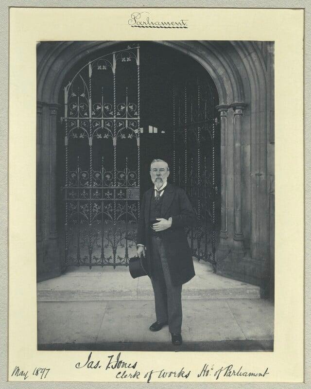 James F. Jones, by Sir (John) Benjamin Stone, May 1897 - NPG x44813 - © National Portrait Gallery, London