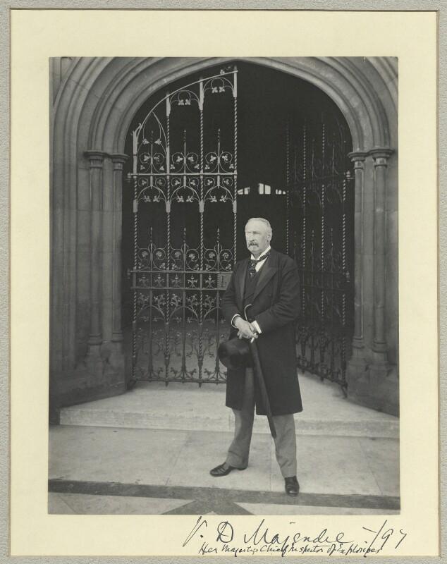 Sir Vivian Dering Majendie, by Benjamin Stone, 1897 - NPG x44866 - © National Portrait Gallery, London