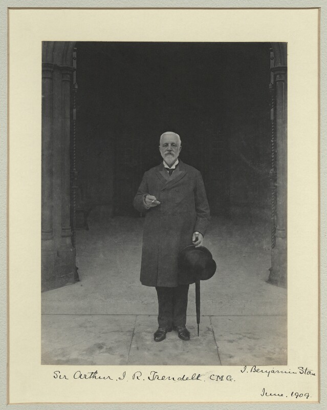 Sir Arthur James Richens Trendell, by Sir (John) Benjamin Stone, 29 June 1909 - NPG x44986 - © National Portrait Gallery, London