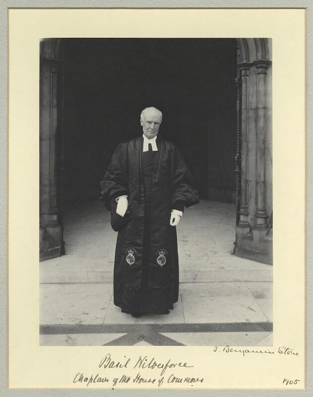 Albert Basil Orme Wilberforce, by Sir (John) Benjamin Stone, 1905 - NPG x45023 - © National Portrait Gallery, London