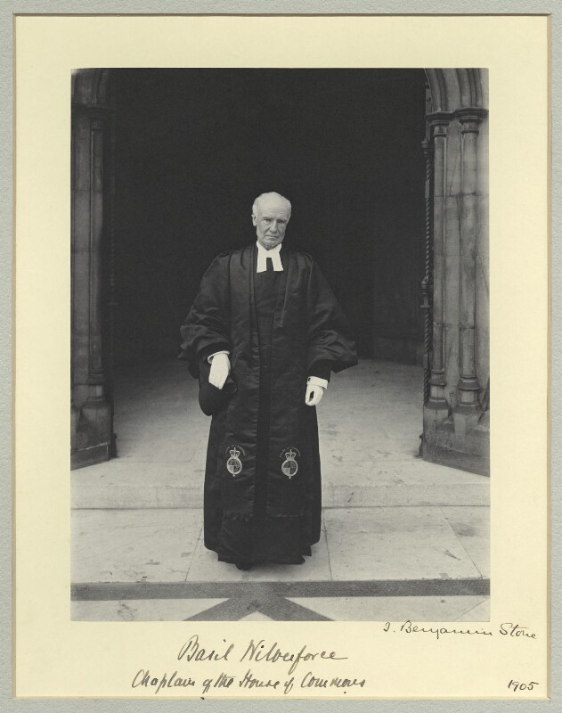 Albert Basil Orme Wilberforce, by Benjamin Stone, 1905 - NPG x45023 - © National Portrait Gallery, London