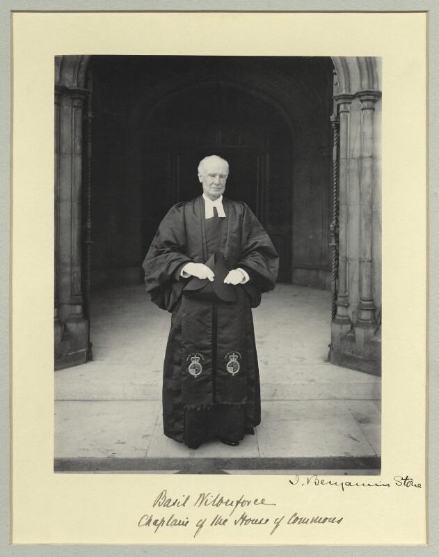 Albert Basil Orme Wilberforce, by Sir (John) Benjamin Stone, 1905 - NPG x45024 - © National Portrait Gallery, London