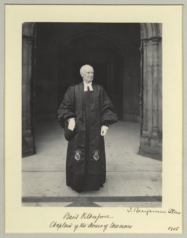 Albert Basil Orme Wilberforce, by Sir (John) Benjamin Stone, 1905 - NPG x45025 - © National Portrait Gallery, London