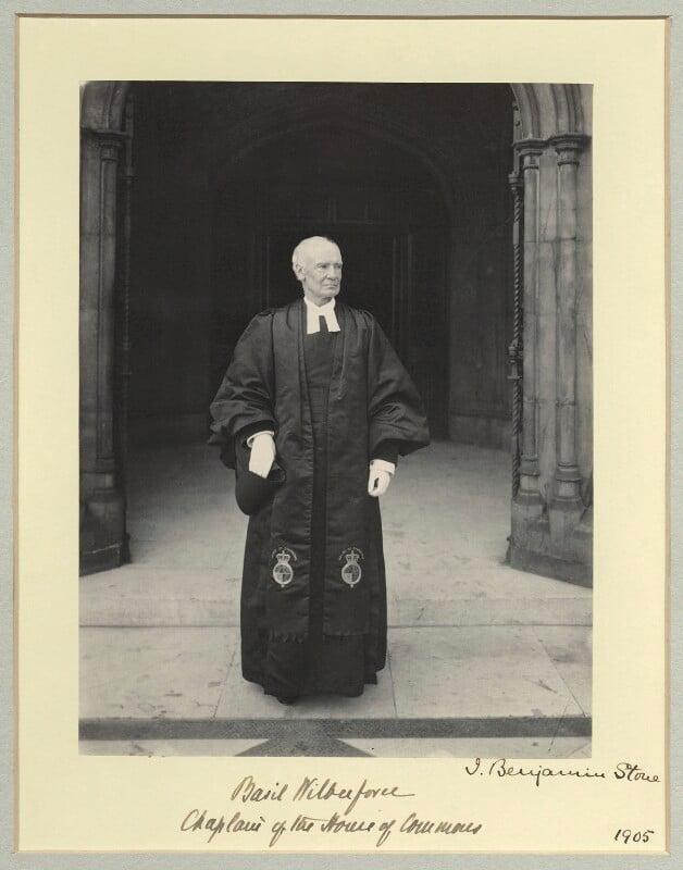 Albert Basil Orme Wilberforce, by Benjamin Stone, 1905 - NPG x45025 - © National Portrait Gallery, London
