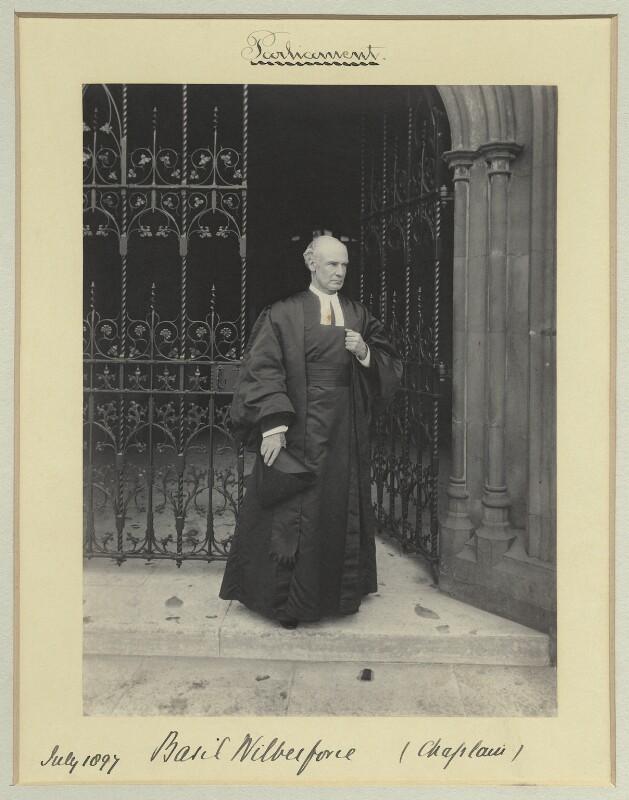Albert Basil Orme Wilberforce, by Sir (John) Benjamin Stone, July 1897 - NPG x45026 - © National Portrait Gallery, London