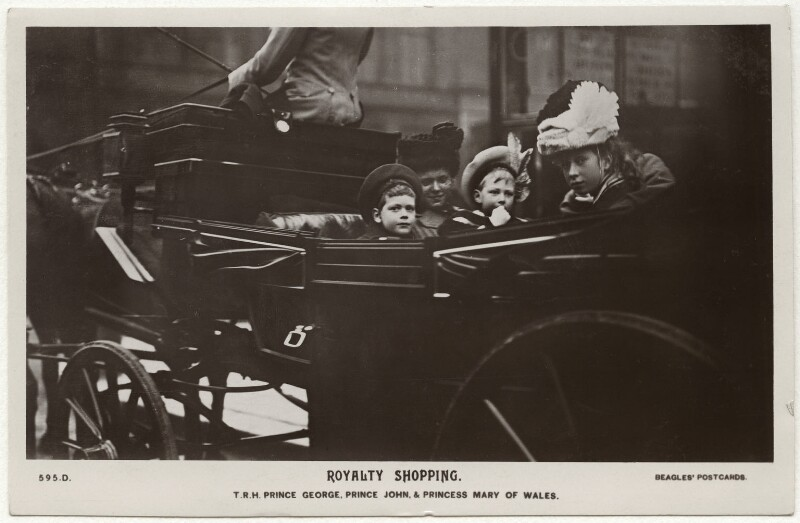 'Royalty Shopping', published by J. Beagles & Co, late 1900s - NPG x45043 - © National Portrait Gallery, London