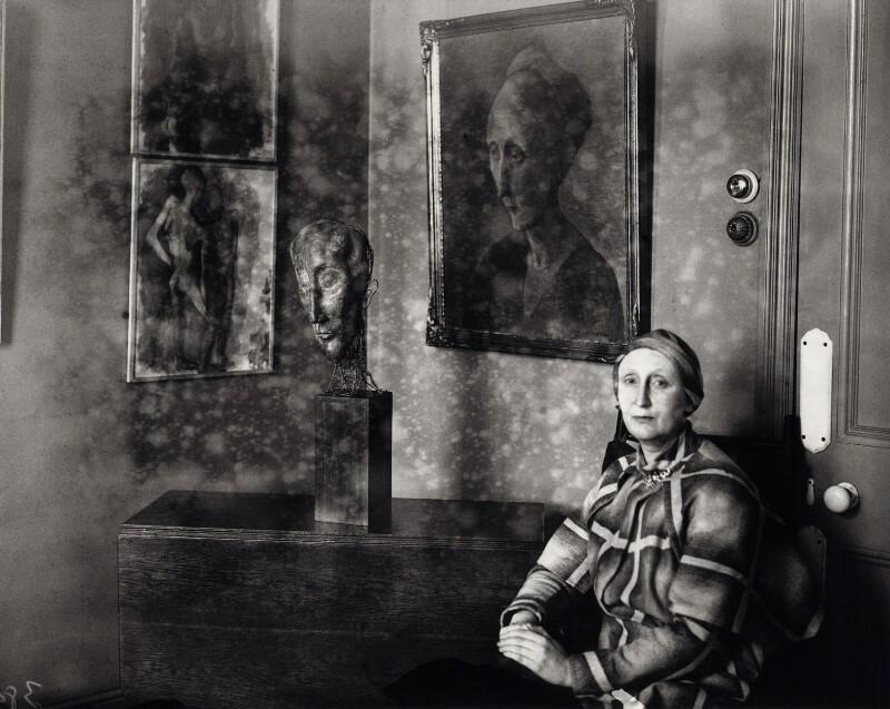 Edith Sitwell, by Fox Photos Ltd, 1931 - NPG x45497 - © National Portrait Gallery, London