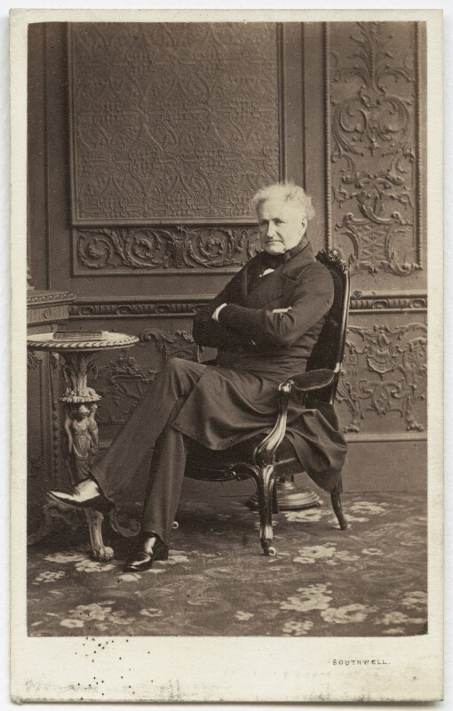 Henry Beauchamp Lygon, 4th Earl Beauchamp, by Southwell Brothers, 1862-1863 - NPG x45591 - © National Portrait Gallery, London