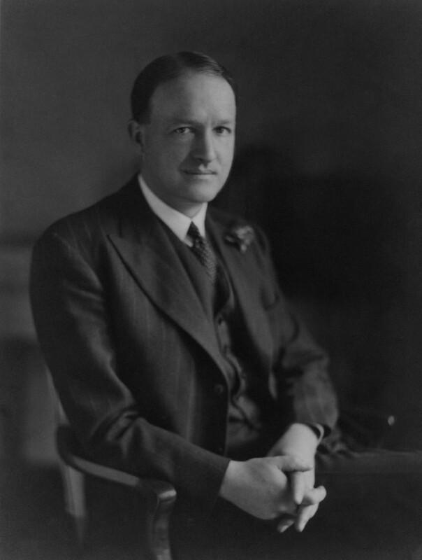 Richard Austen ('Rab') Butler, 1st Baron Butler of Saffron Walden, by Walter Stoneman, September 1941 - NPG x45740 - © National Portrait Gallery, London