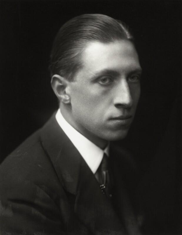 Sir Osbert Sitwell, by Emil Otto ('E.O.') Hoppé, 1918 - NPG x45789 - © 2017 E.O. Hoppé Estate Collection / Curatorial Assistance Inc.