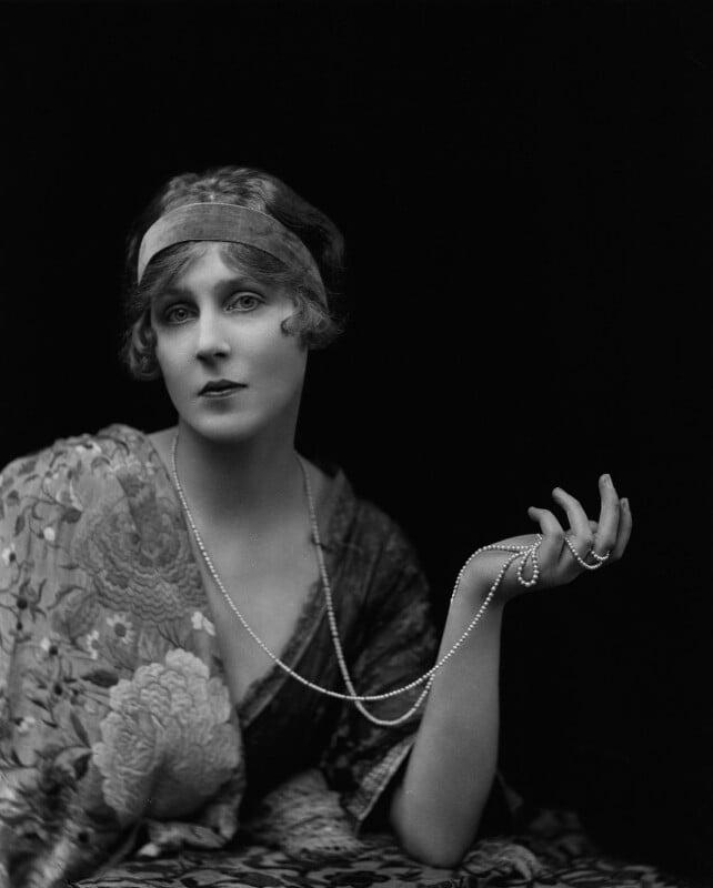 Lady Diana Cooper (Diana (née Manners), Viscountess Norwich), by Emil Otto ('E.O.') Hoppé, January 1916 - NPG x45796 - © 2017 E.O. Hoppé Estate Collection / Curatorial Assistance Inc.