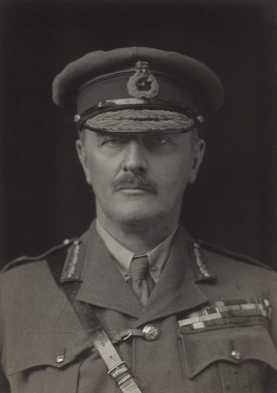 Edmund Henry Hynman Allenby, 1st Viscount Allenby, by Walter Stoneman, 1919 - NPG x32770 - © National Portrait Gallery, London