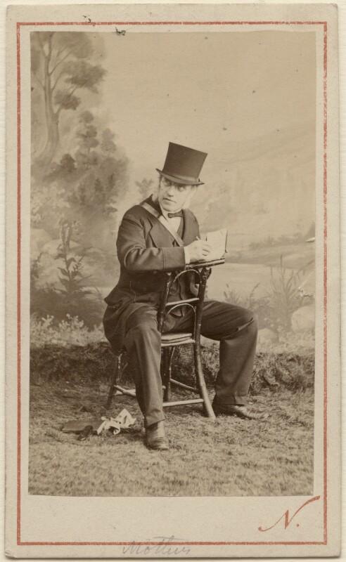 Sir George Scharf, by Nadar (Gaspard Félix Tournachon), 21 August 1867 - NPG Ax29987 - © National Portrait Gallery, London