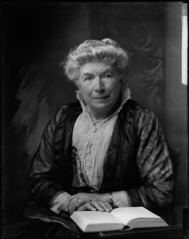 Mary Augusta Ward (née Arnold), by H. Walter Barnett,  - NPG x46021 - © National Portrait Gallery, London