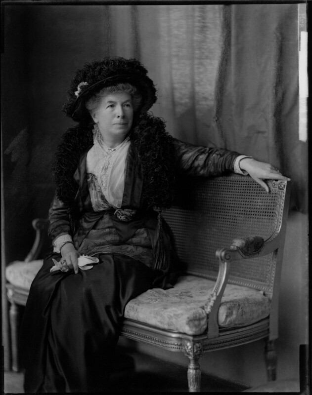 Mary Augusta Ward (née Arnold), by H. Walter Barnett,  - NPG x46022 - © National Portrait Gallery, London