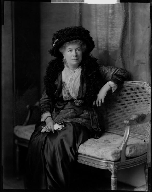 Mary Augusta Ward (née Arnold), by Henry Walter ('H. Walter') Barnett,  - NPG x46024 - © National Portrait Gallery, London