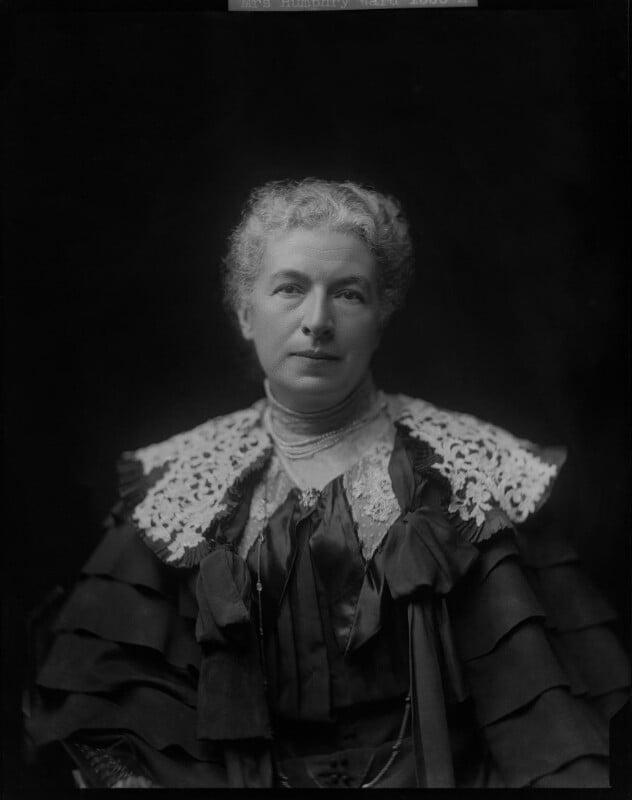 Mary Augusta Ward (née Arnold), by Henry Walter ('H. Walter') Barnett,  - NPG x46026 - © National Portrait Gallery, London