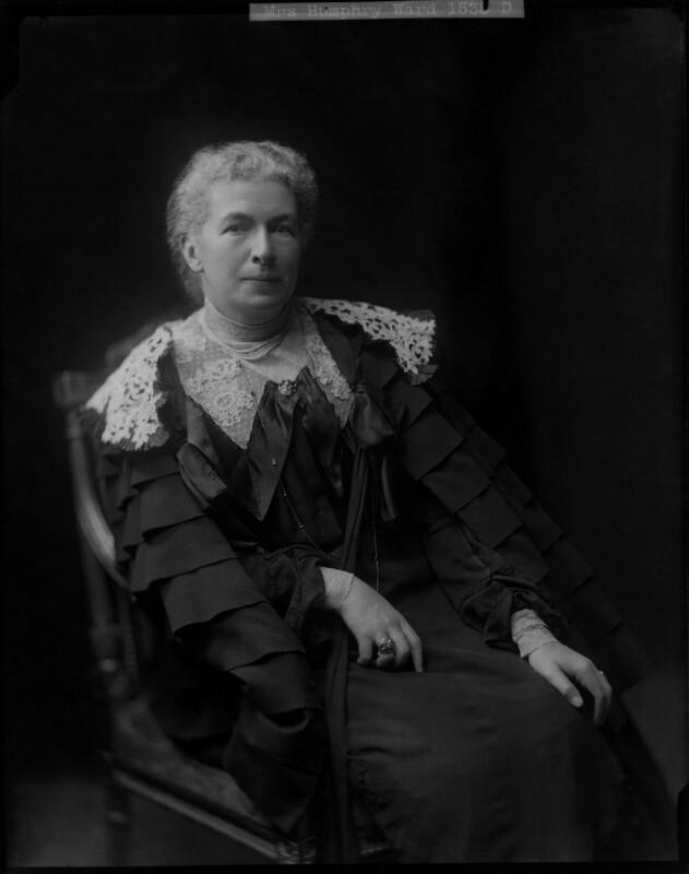 Mary Augusta Ward (née Arnold), by Henry Walter ('H. Walter') Barnett,  - NPG x46027 - © National Portrait Gallery, London