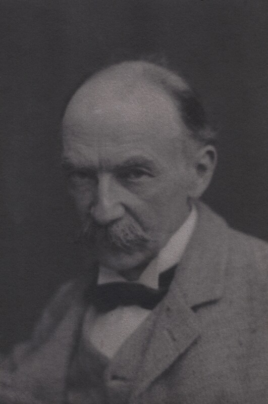 Thomas Hardy, by Thomas Perkins, circa 1900 - NPG x4616 - © reserved; collection National Portrait Gallery, London