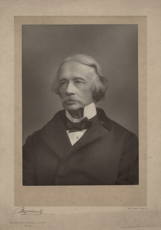 Coventry Kersey Deighton Patmore, by Herbert Rose Barraud, published by  Eglington & Co, published 1891 - NPG x4621 - © National Portrait Gallery, London