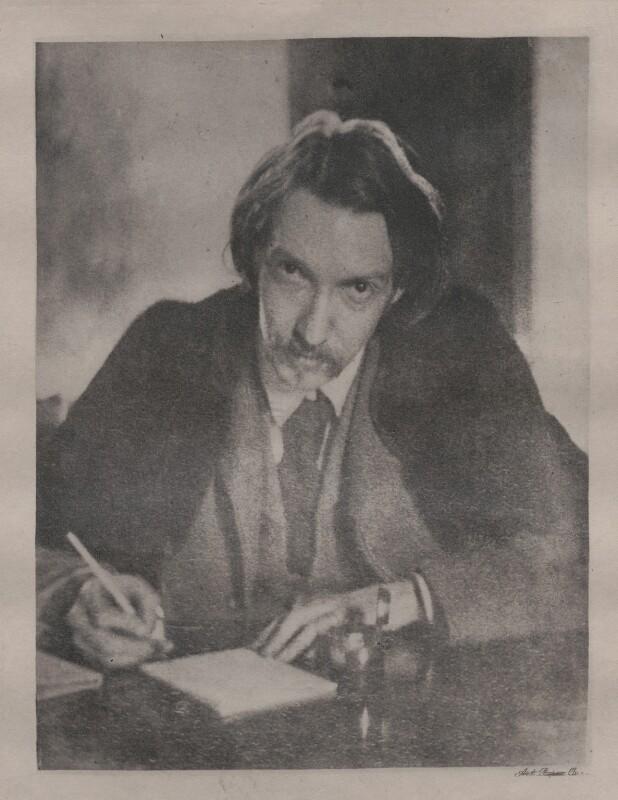 Robert Louis Stevenson, by Unknown photographer, circa 1885 - NPG x4626 - © National Portrait Gallery, London