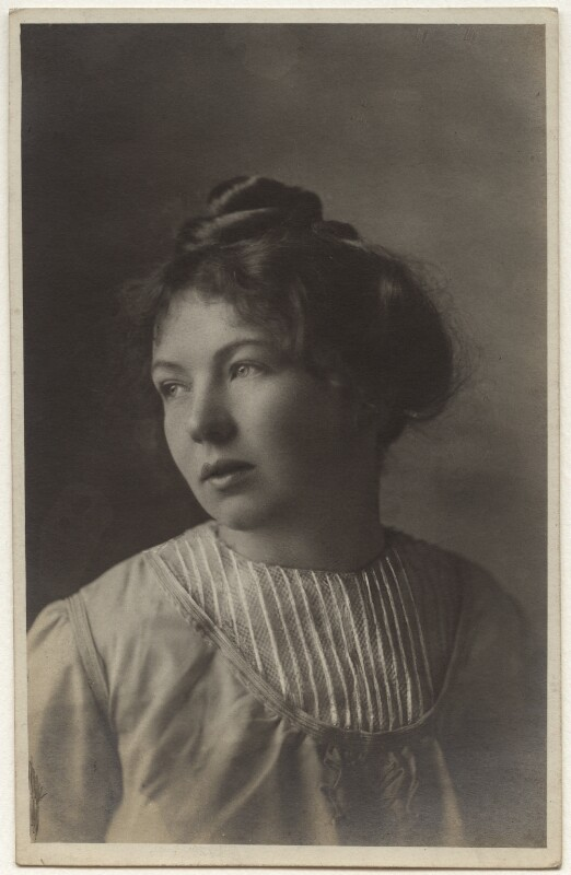Dame Christabel Pankhurst, by Kate Simmons, 1910 - NPG x46490 - © reserved; collection National Portrait Gallery, London
