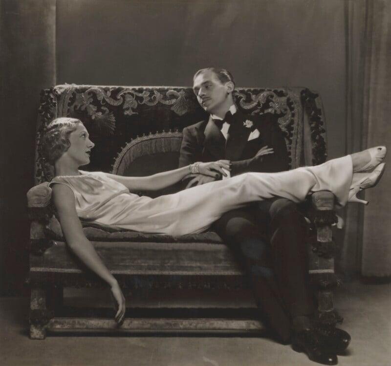 Gertrude Lawrence and Douglas Fairbanks Jr in 'Moonlight is Silver', by Dorothy Wilding, 1934 - NPG x46509 - © William Hustler and Georgina Hustler / National Portrait Gallery, London