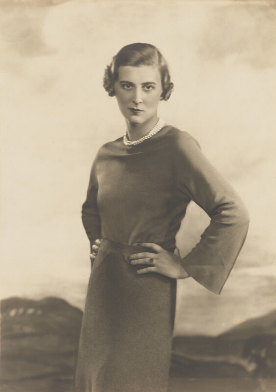Princess Marina, Duchess of Kent, by Dorothy Wilding, October 1934 - NPG x46511 - © William Hustler and Georgina Hustler / National Portrait Gallery, London