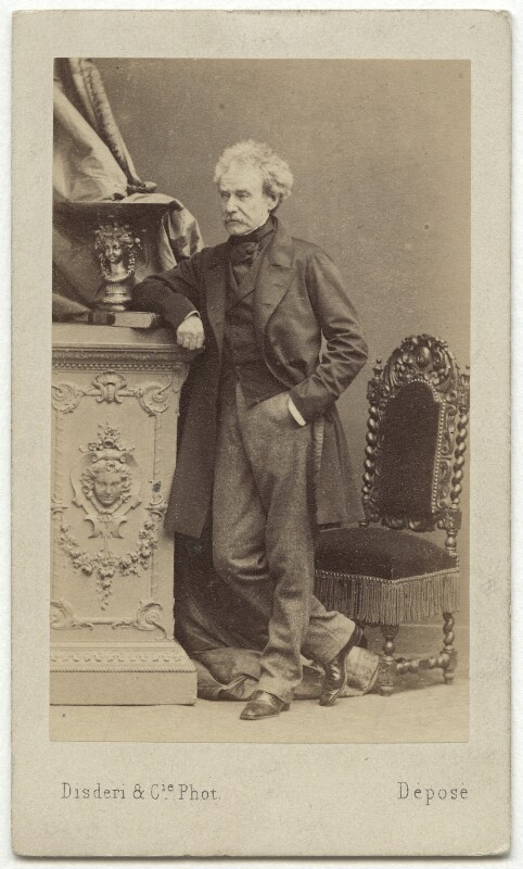 Colin Campbell, 1st Baron Clyde, by Disdéri, early 1860s - NPG x46620 - © National Portrait Gallery, London