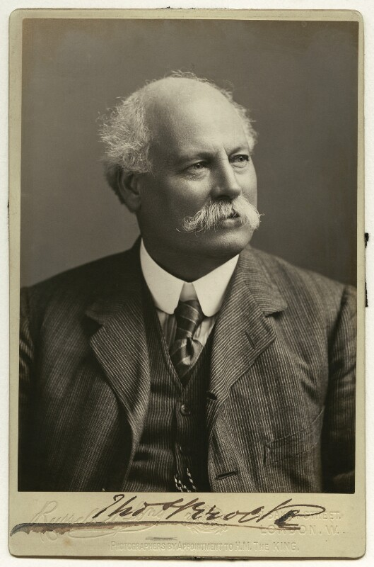 Sir Thomas Brock, by James Russell & Sons, circa 1901-1910 - NPG x4675 - © National Portrait Gallery, London