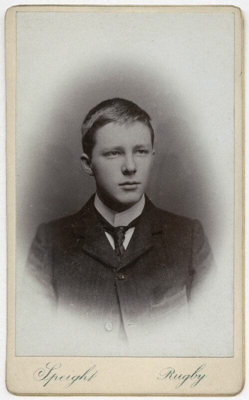 Rupert Brooke, by Speight, 1903 - NPG x4696 - © National Portrait Gallery, London