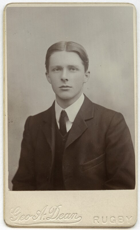 Rupert Brooke, by George Augustus Dean Jr, 1905 - NPG x4697 - © National Portrait Gallery, London