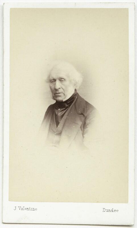 Sir David Brewster, by James Valentine, 1863 - NPG x46992 - © National Portrait Gallery, London
