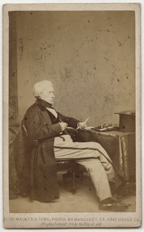 Henry Brougham, 1st Baron Brougham and Vaux, by William Walker & Sons, 1862 - NPG x4717 - © National Portrait Gallery, London