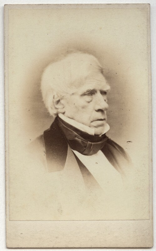Henry Brougham, 1st Baron Brougham and Vaux, possibly by Paul Emile Chappuis, 1860s - NPG x4719 - © National Portrait Gallery, London