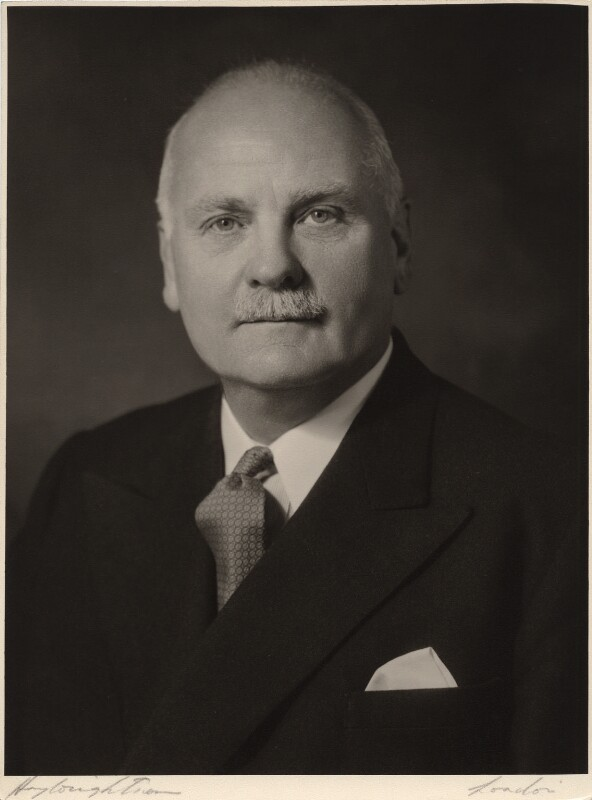Sir (Harold) Reginald Kerr, by Hay Wrightson Ltd, circa 1960 - NPG x47228 - © National Portrait Gallery, London