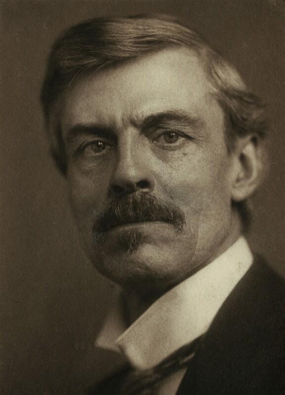 Frederick Brown, by George Charles Beresford, 1904 - NPG x4728 - © National Portrait Gallery, London