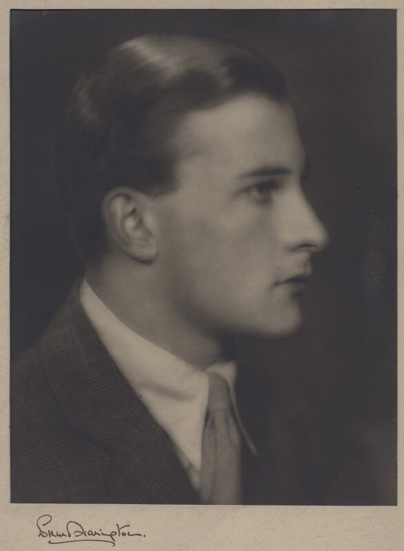 Michael Sherard (Malcolm Henry Sherrard), by Edmund Harrington,  - NPG x47342 - © reserved; collection National Portrait Gallery, London