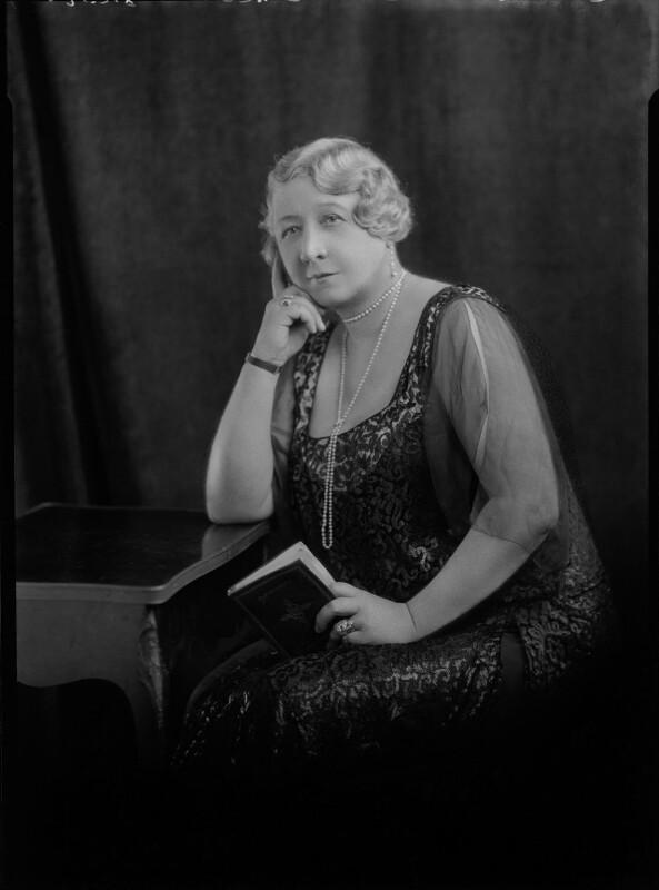 Carolina Mary (née Lobb), Lady Aitken, by Lafayette (Lafayette Ltd), 13 November 1928 - NPG x47412 - © National Portrait Gallery, London