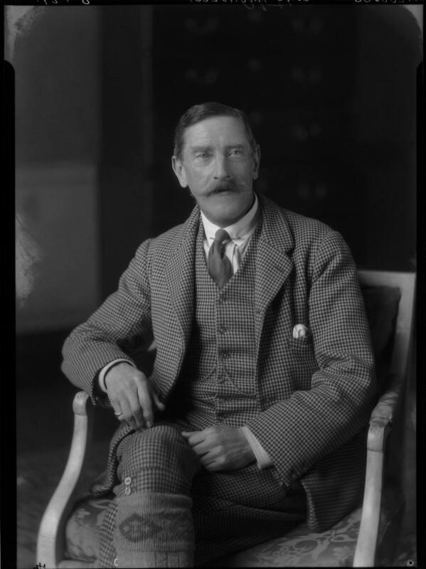 Gerald Arthur Arundell, 15th Baron Arundell of Wardour, by Lafayette (Lafayette Ltd), 8 January 1929 - NPG x47475 - © National Portrait Gallery, London