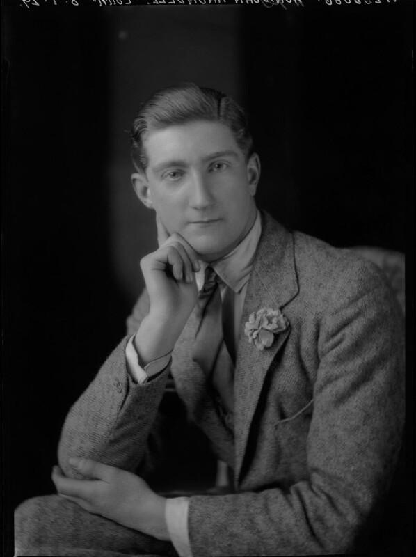 John Francis Arundell, 16th Baron Arundell of Wardour, by Lafayette (Lafayette Ltd), 8 January 1929 - NPG x47476 - © National Portrait Gallery, London
