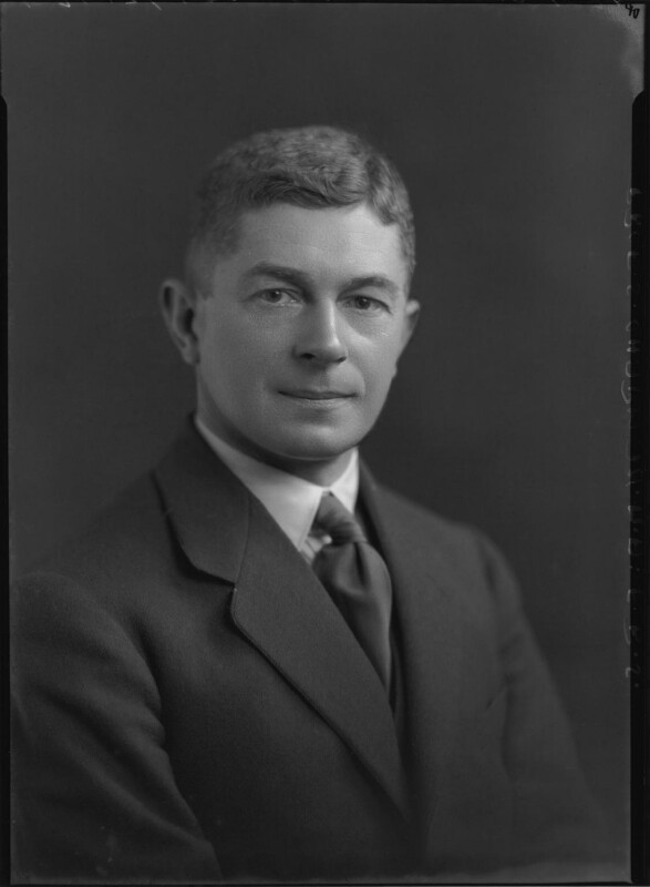 Sydney Chapman, by Lafayette, 12 April 1929 - NPG x47647 - © National Portrait Gallery, London