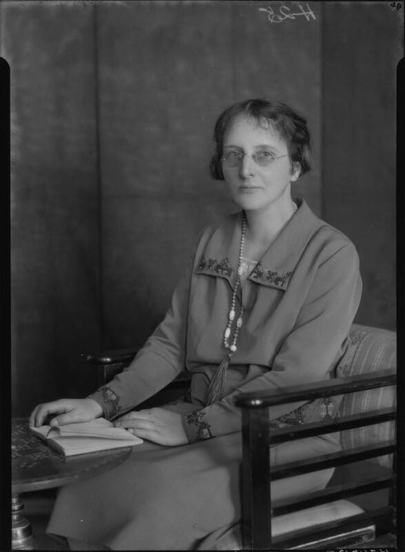 Eleanora Mary Almond, by Lafayette (Lafayette Ltd), 23 April 1929 - NPG x47661 - © National Portrait Gallery, London